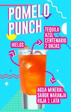 Bebida con Tequila Azul, imagen vaso con tequila
